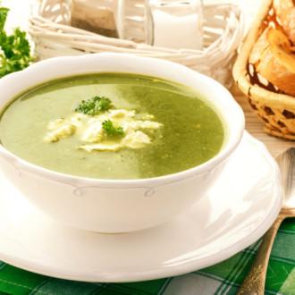 Крем-суп з броколі