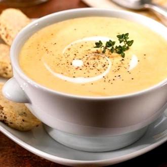 Крем-суп сирний